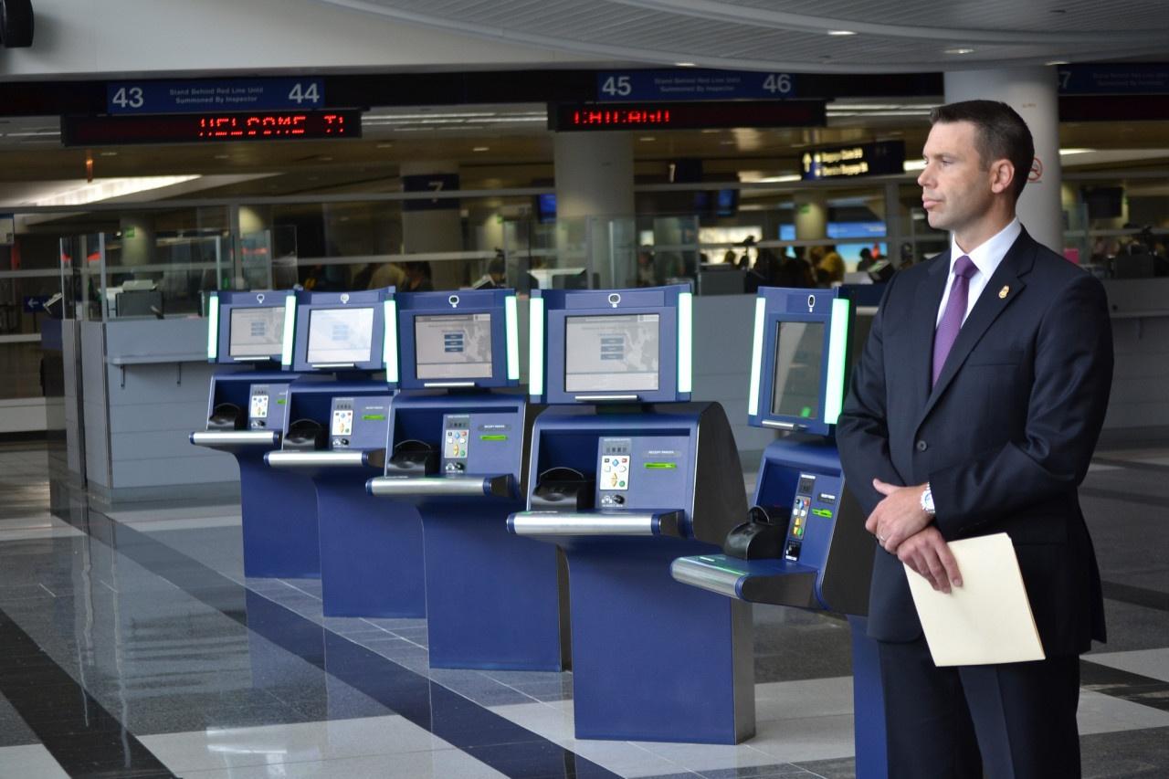 Automatische paspoortcontrole in Amerika