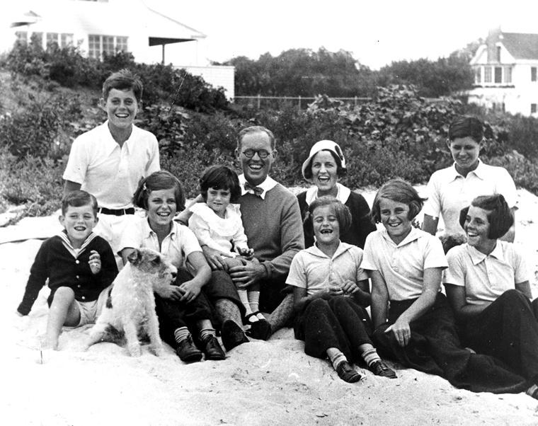 Joe Kennedy and family