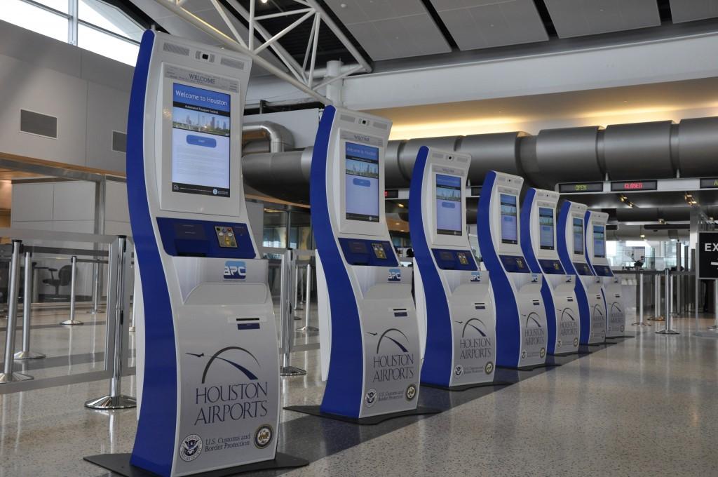 automatische paspoortcontrole in Amerka