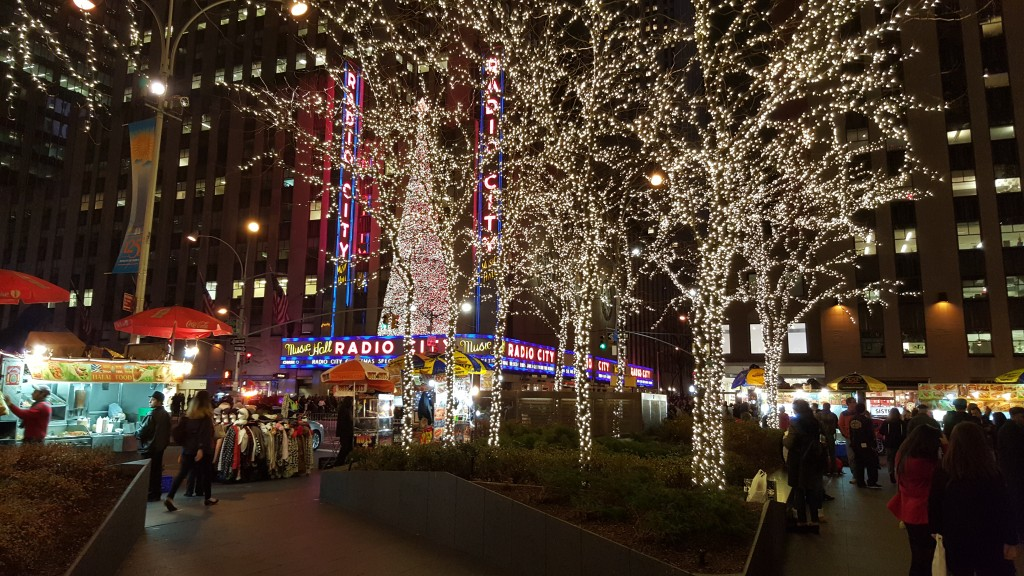 Kerst in New York Radio City Music Hall