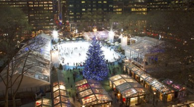 Winter Village in Bryant Park