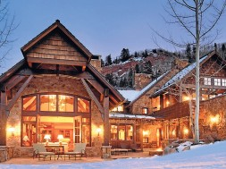 Larry Yaw chalet in Aspen