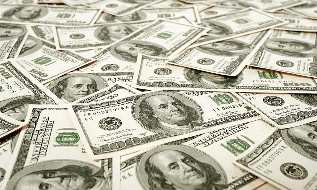 Pinnen in Amerika dollars
