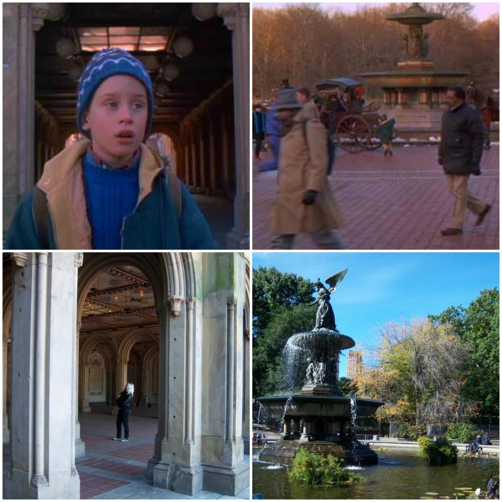 Home Alone New York filmlocaties Bethesda Fountain