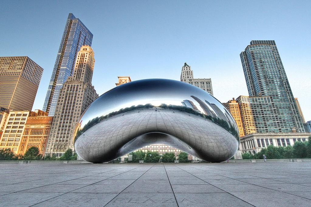 Cloud Gate in Chicago/Foto en copyright: Jackman Chiu