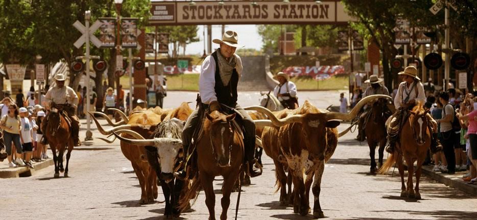 Fort Worth Stockyards: even terug in het oude Texas