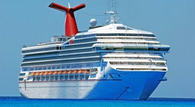 Carnival schip op zee. Foto en copyright: ed2456/Pixabay