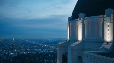 Griffith Observatory, Los Angeles. Foto en copyright: woodrow walden/Unsplash