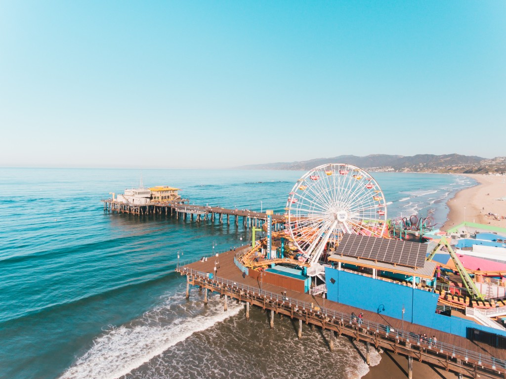 gratis activiteiten in los angeles santa monica pier