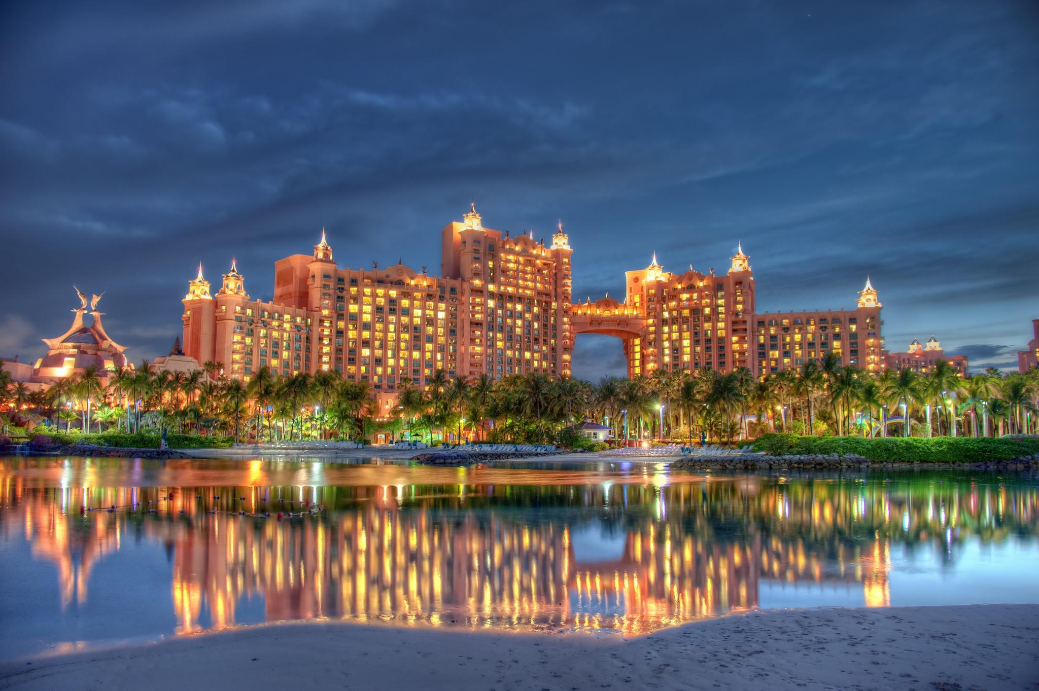 Atlantis hotel Van Florida naar de Bahama's