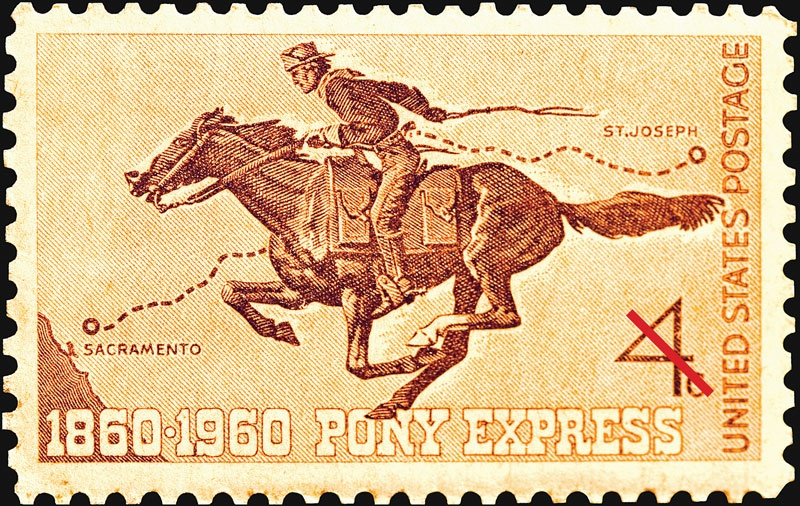 Pony Express: legendarische postroute door de VS