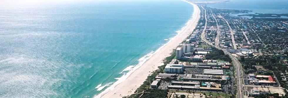 Cocoa Beach Aerial