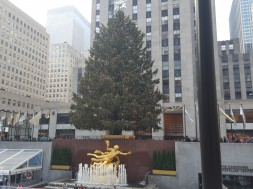 video kerst in new york