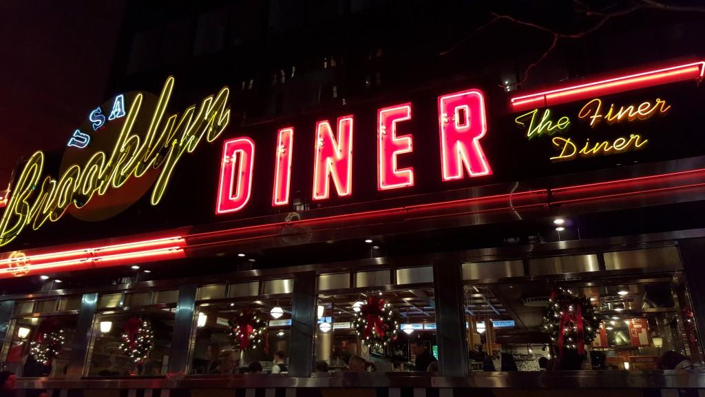 Eten in New York Brooklyn Diner