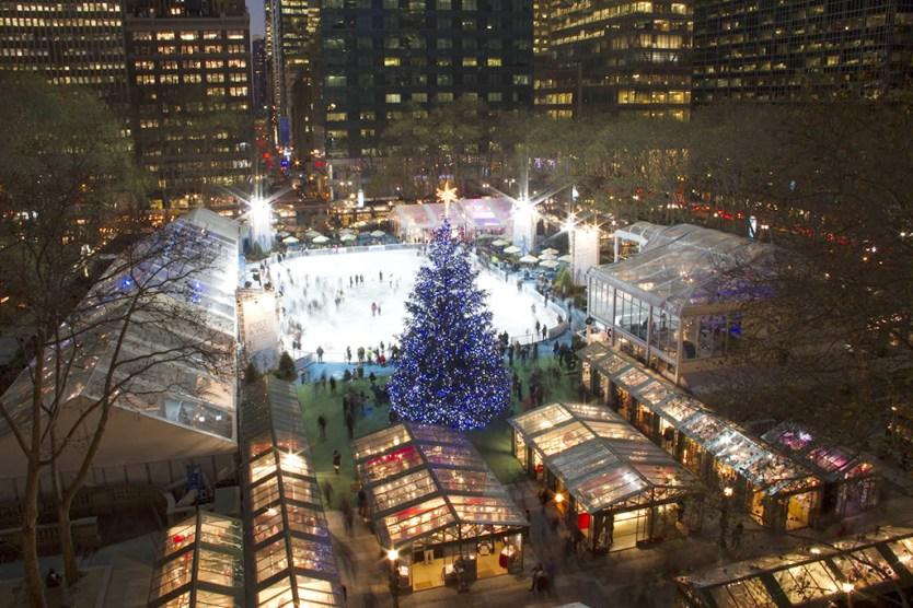 Kerst in New York: vijf bezienswaardigheden