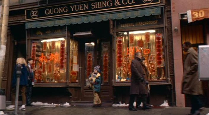 Home Alone New York filmlocaties Quong Yuen Shing & Co