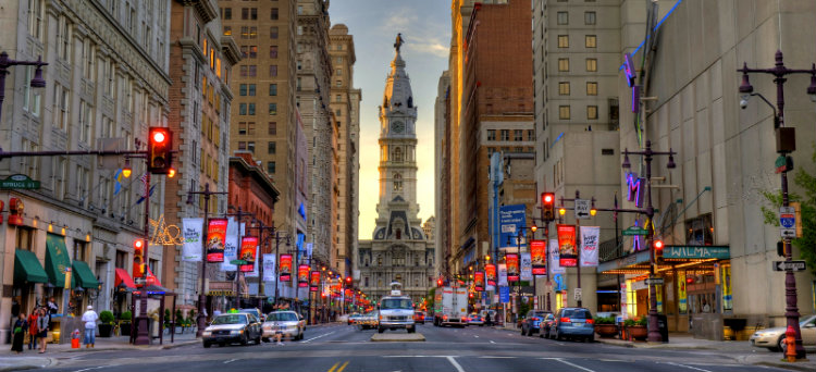 Philadelphia: historische stad in Pennsylvania