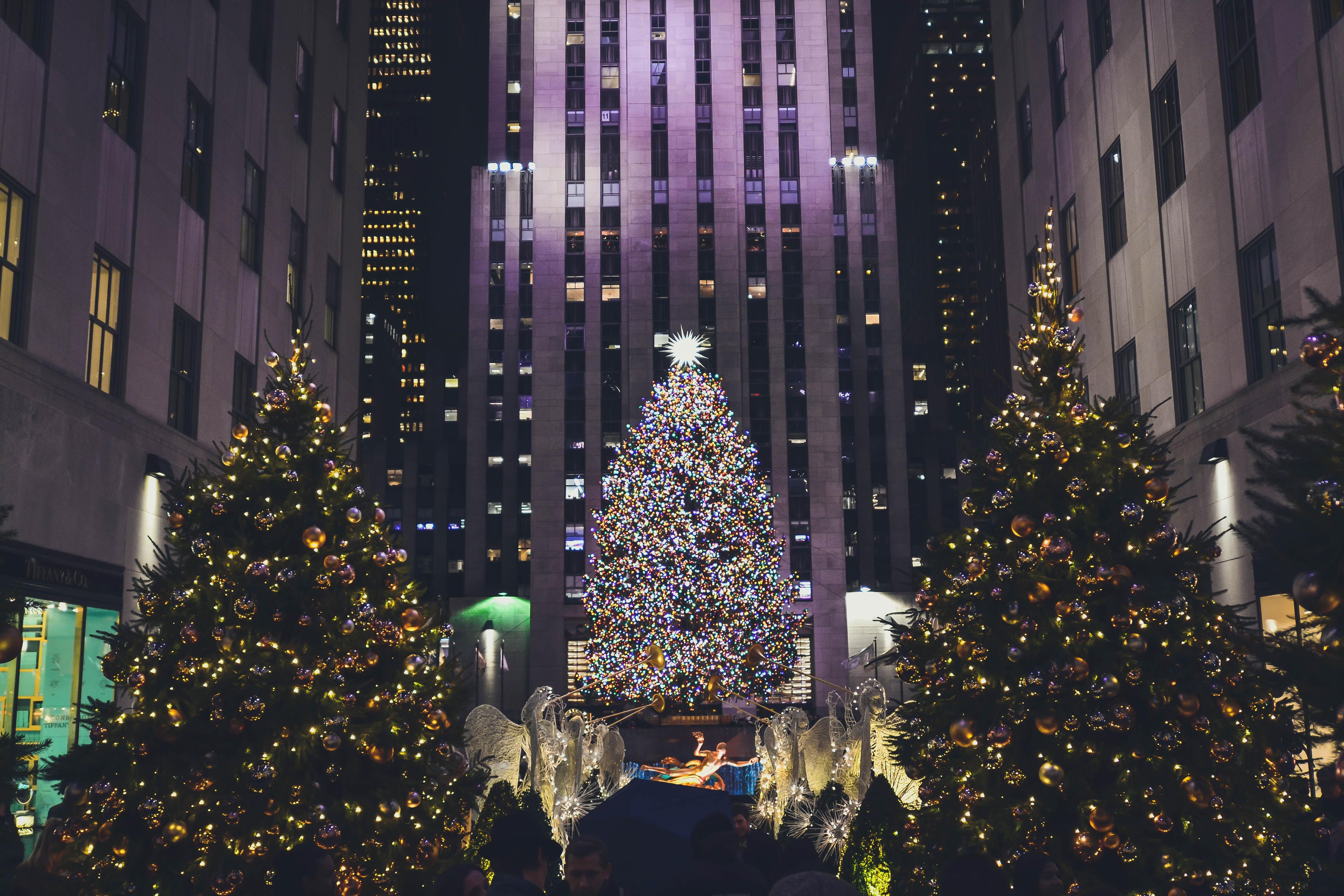kerst in new york kerstboom rockefeller center
