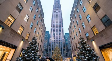 kerst in new york