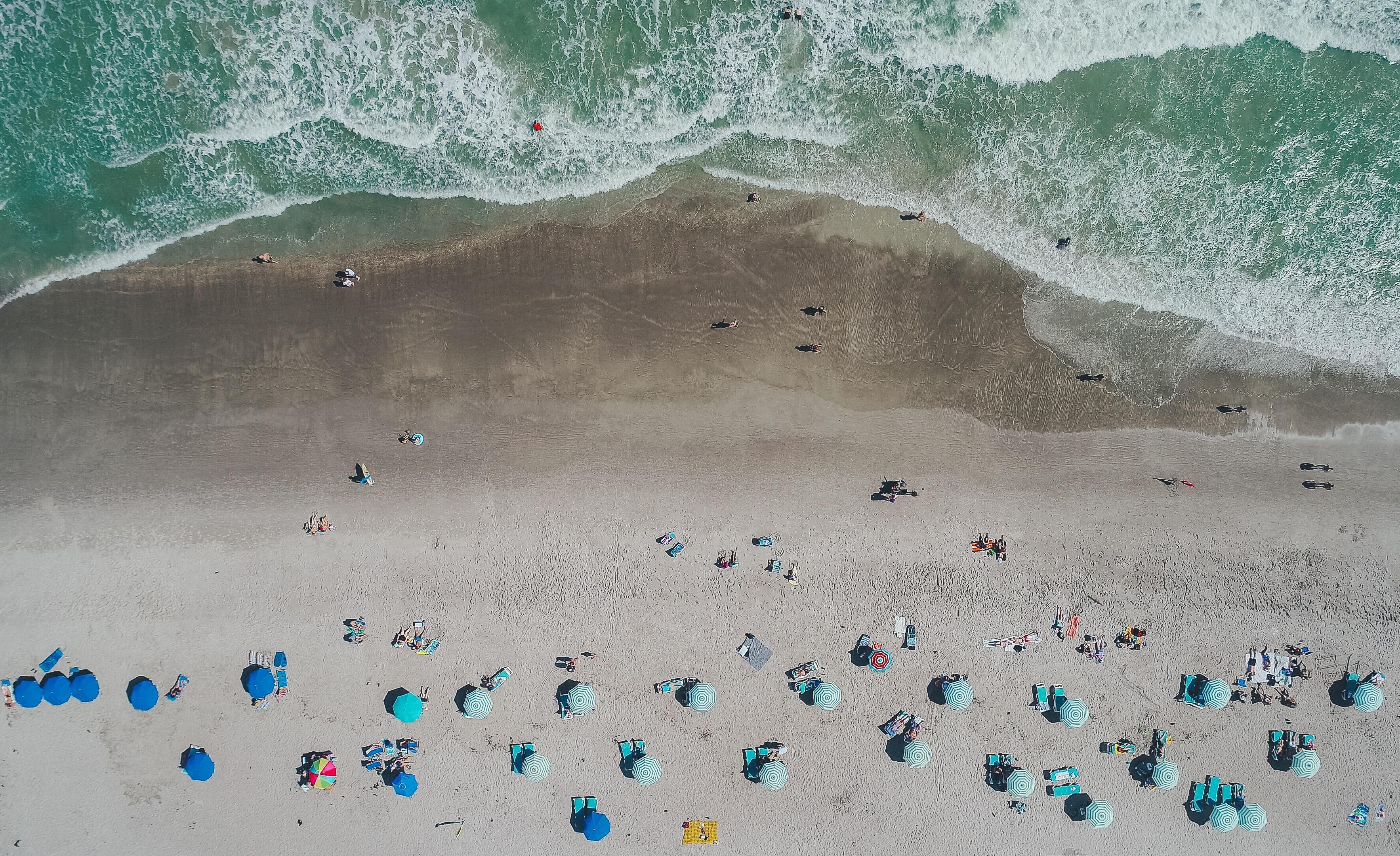 Cocoa Beach in Florida is een bezoek waard