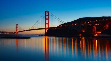 californië golden gate bridge