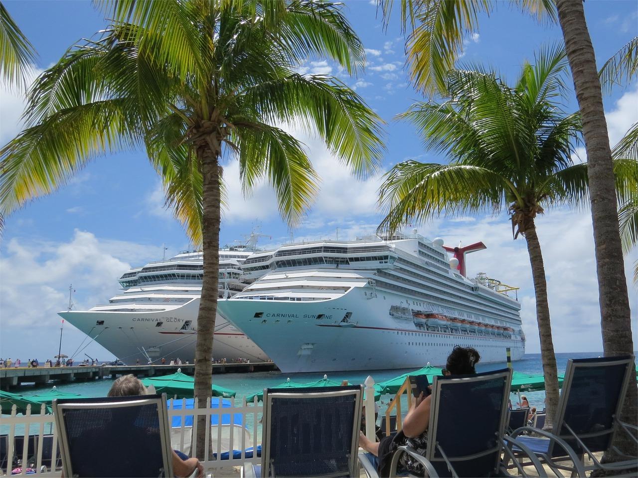 Van Florida naar de Bahama's: per cruise of vliegtuig