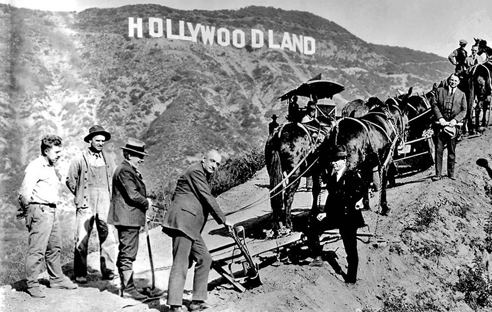 De geschiedenis van Hollywood en het gouden tijdperk