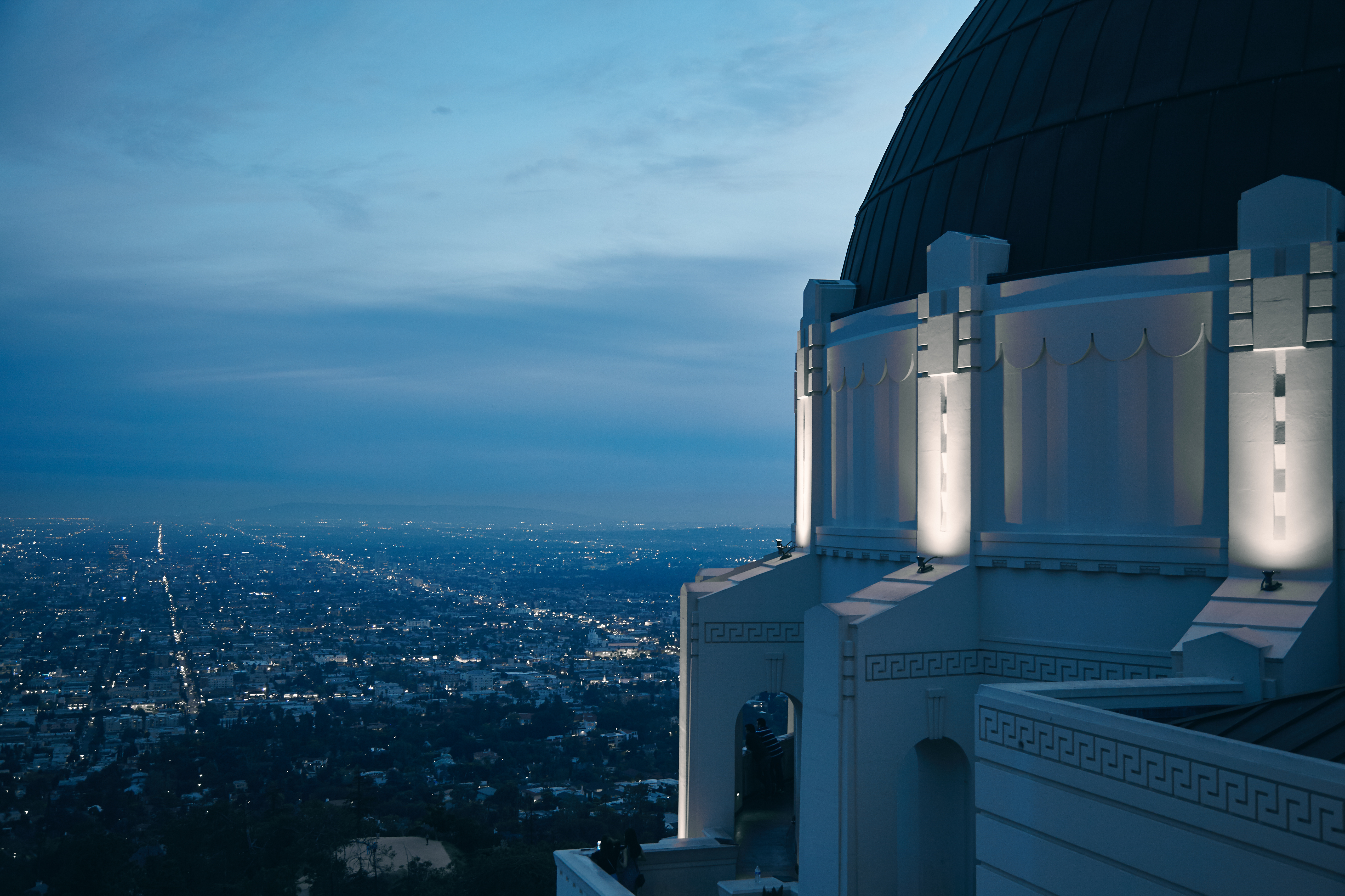 Griffith Observatory sterrenwacht in Los Angeles