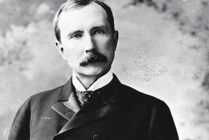 John D. Rockefeller: over de rijkste man ter wereld