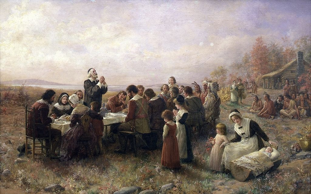 Geschiedenis Thanksgiving; wie zijn de Pilgrims Fathers?