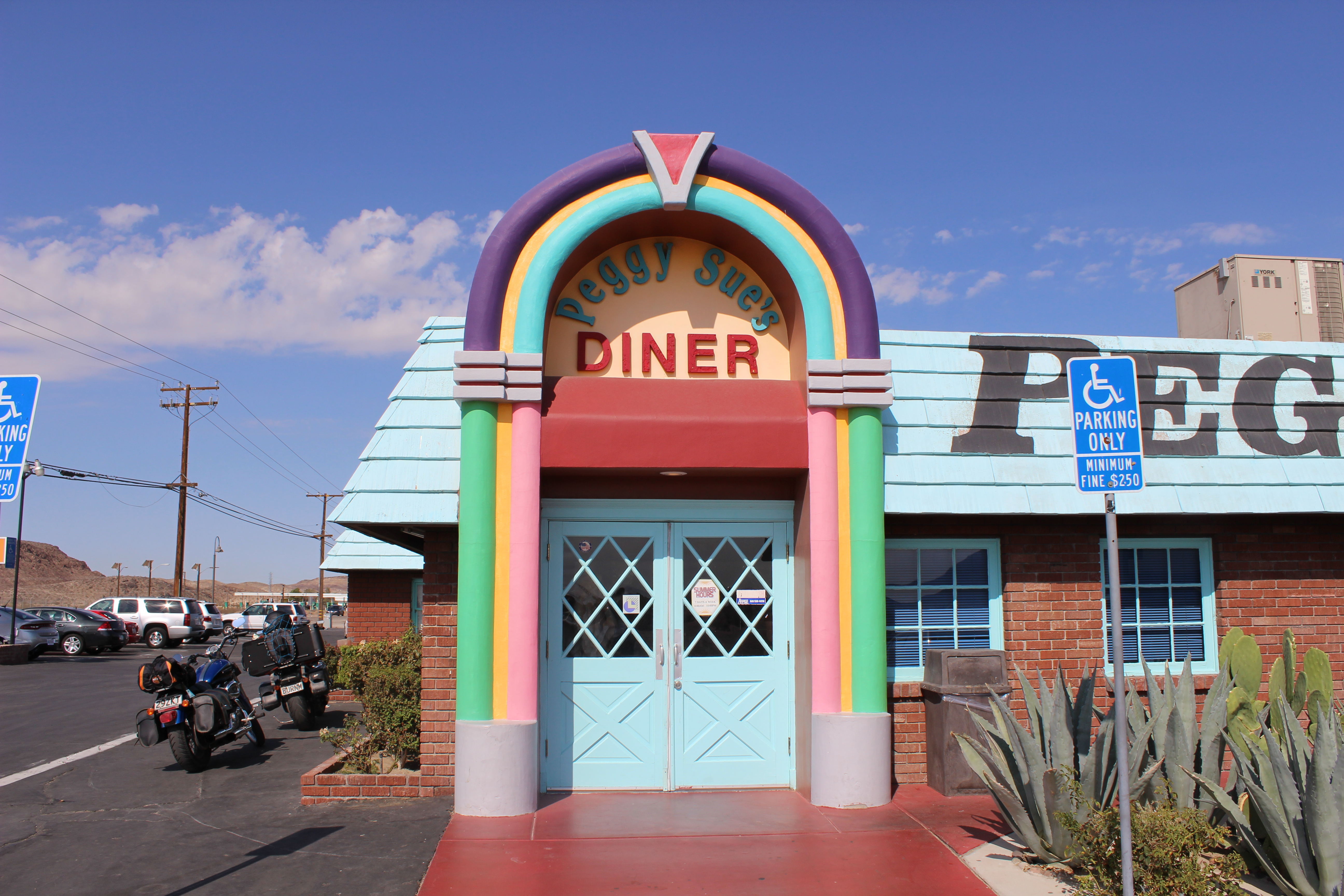 Peggy Sue's Diner: de leukste fifties diner in Amerika