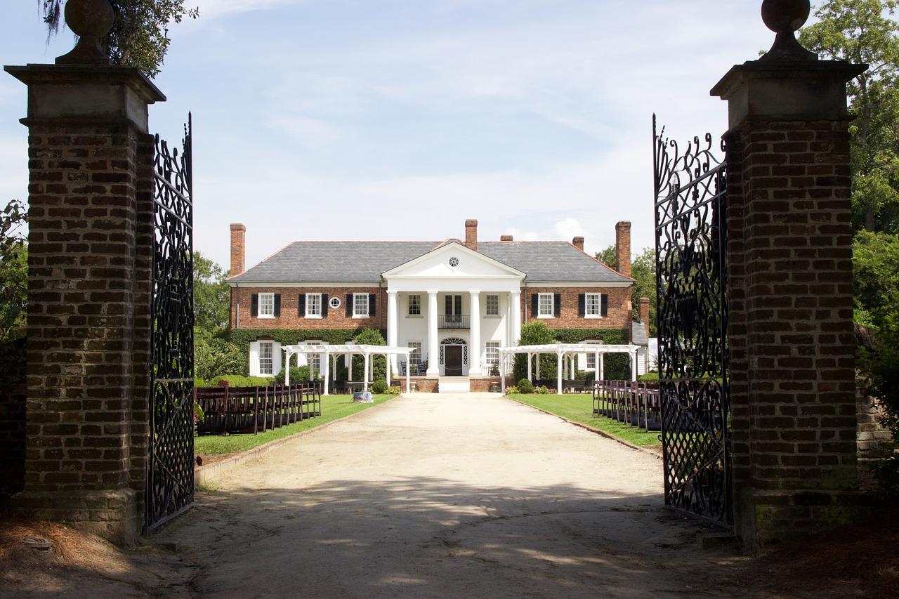 Boone Hall plantation boven Charleston, SC