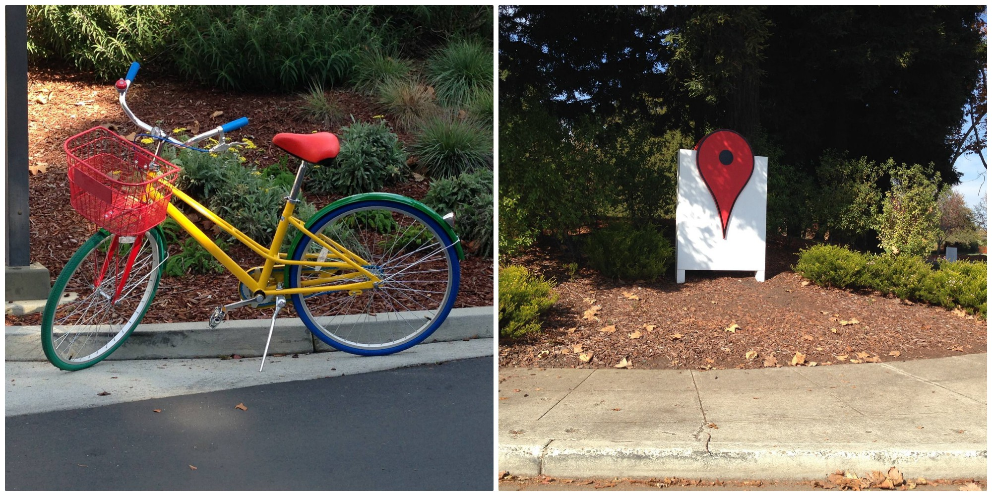 silicon valley google bike pin