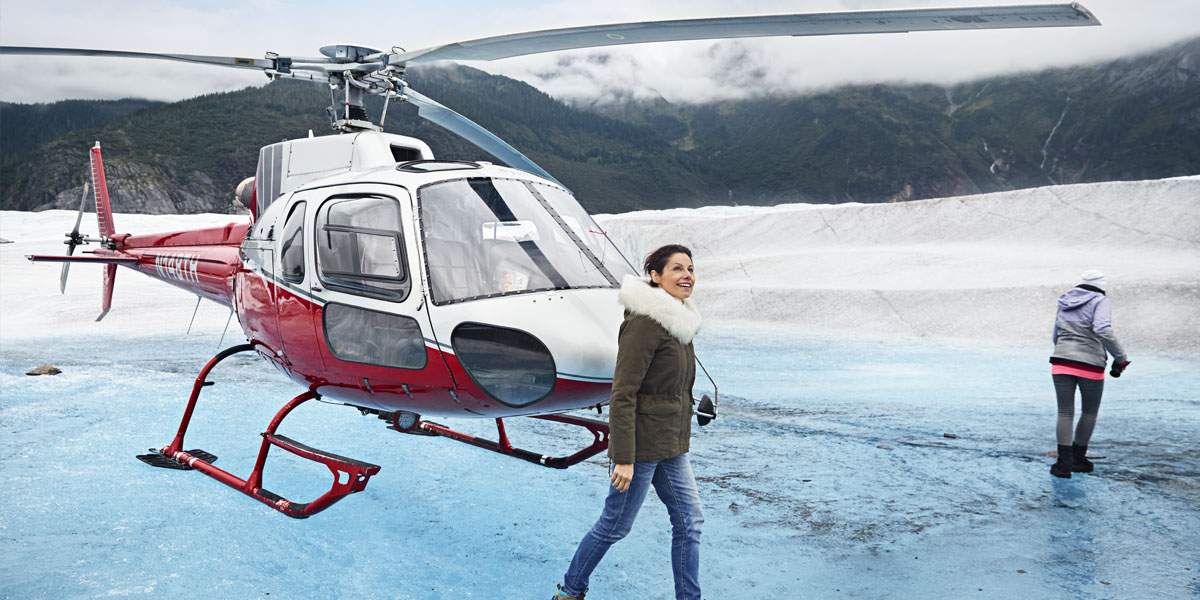 helikoptervlucht alaska