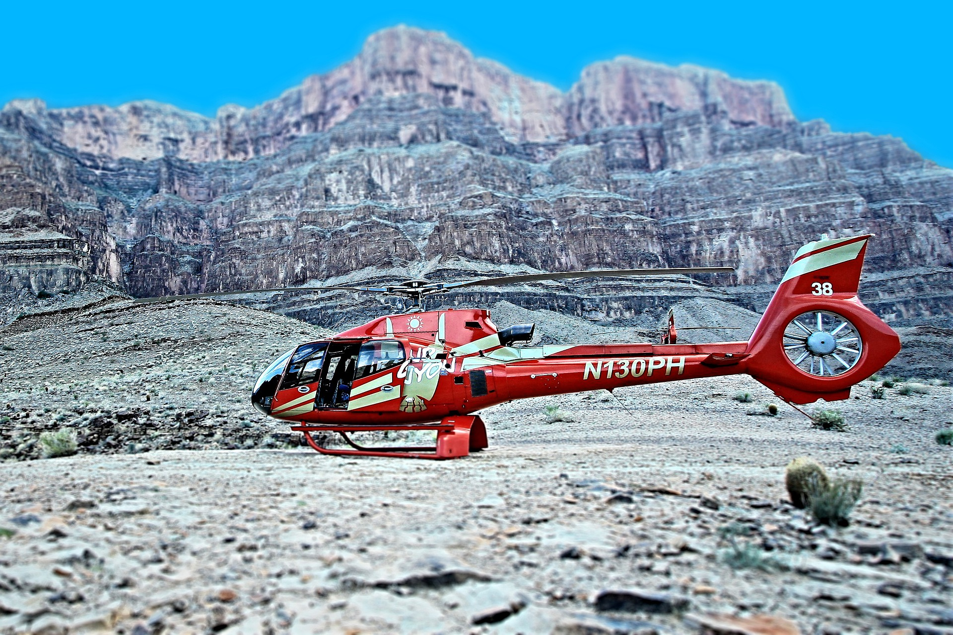 Helikoptervlucht Grand Canyon