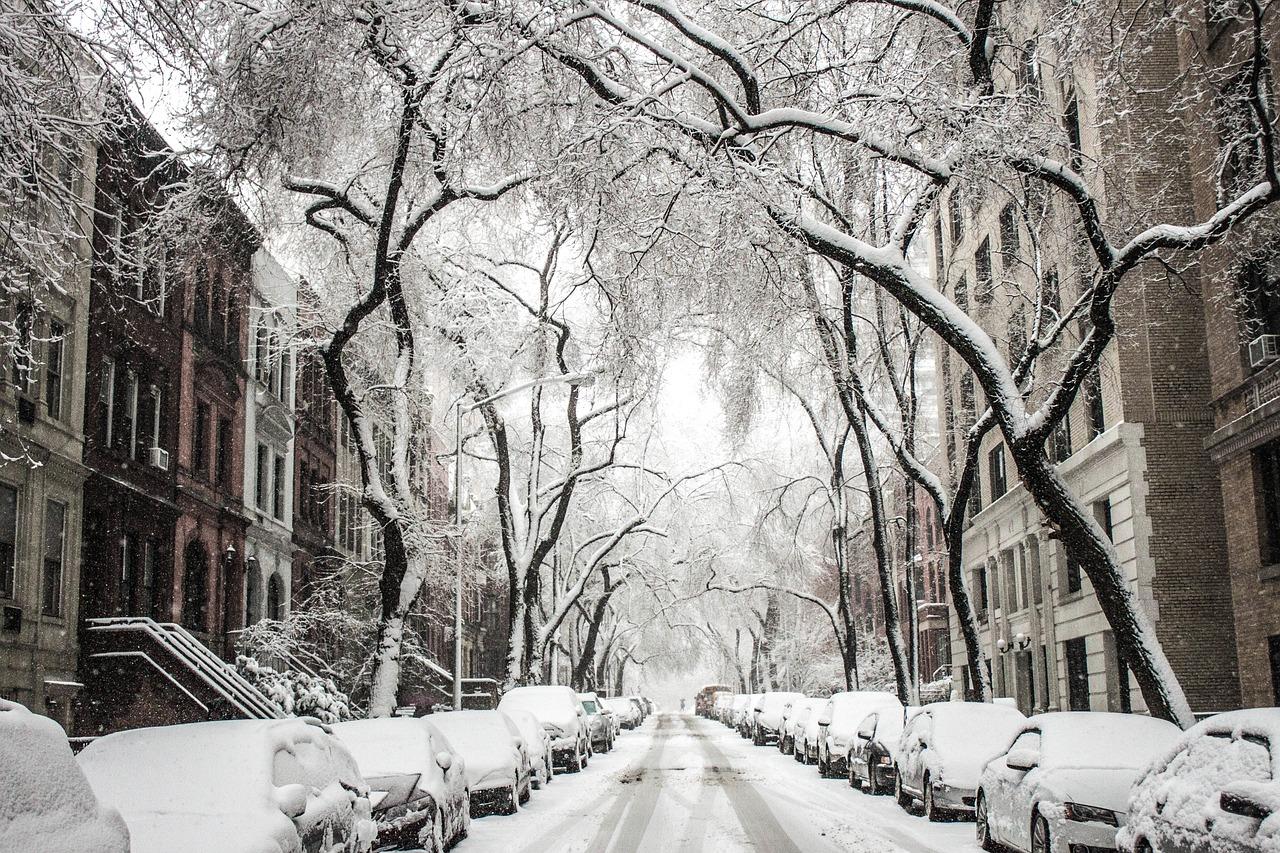 Sneeuw in New York