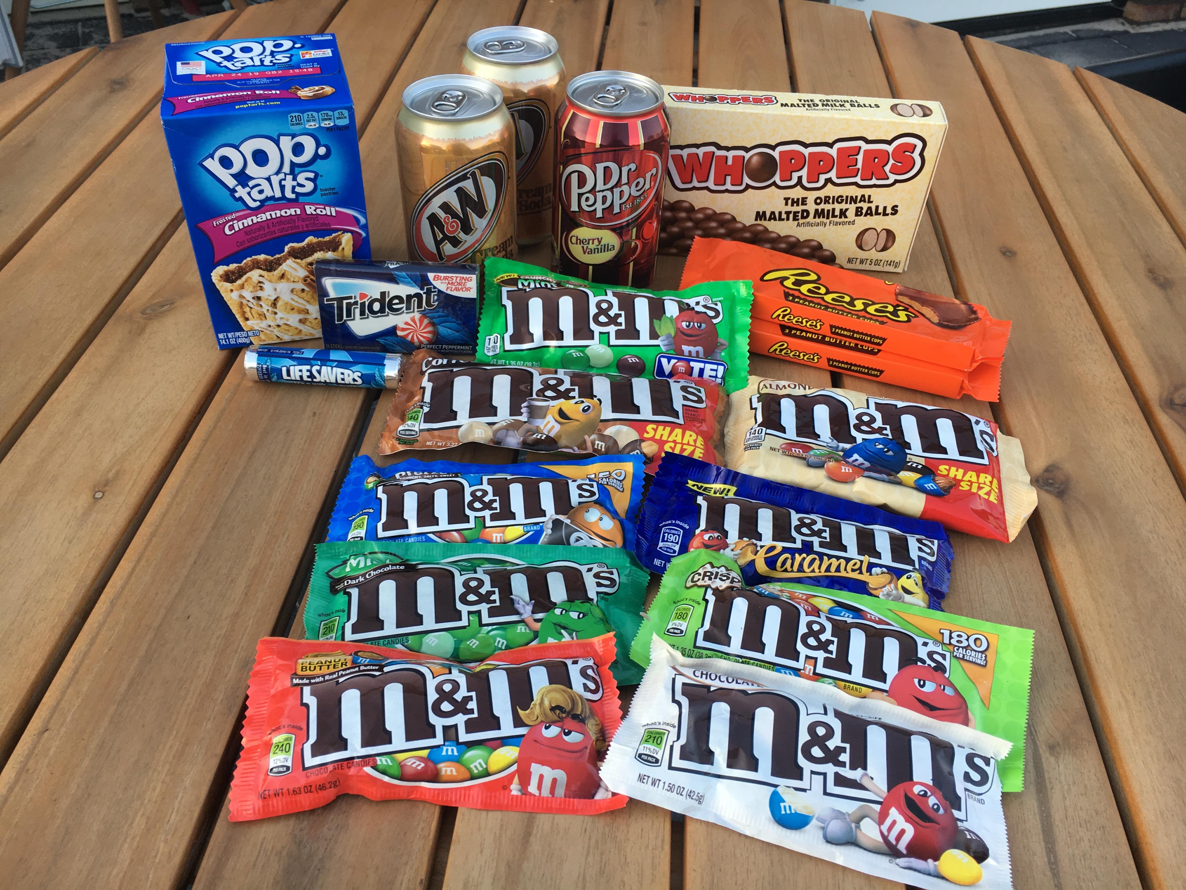 Jummie: Amerikaanse M&M's van Candyonline! + WIN