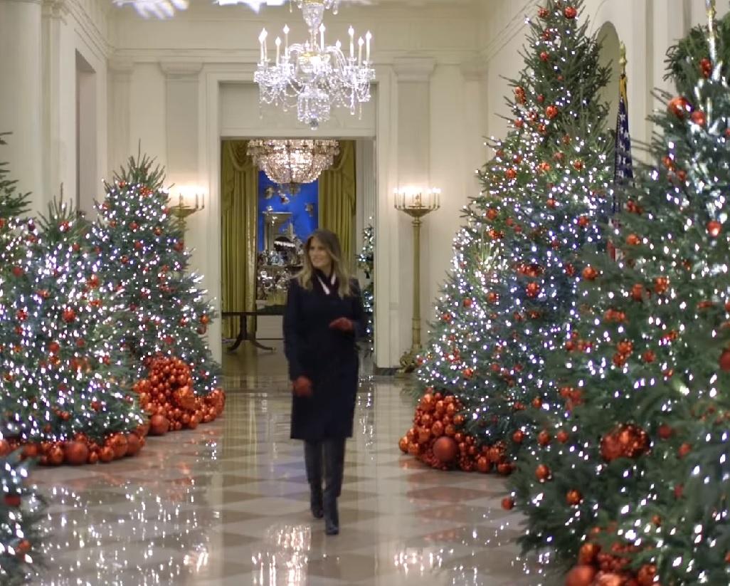 Video: kerstversiering in het Witte Huis