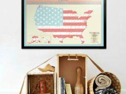 scratch map amerika
