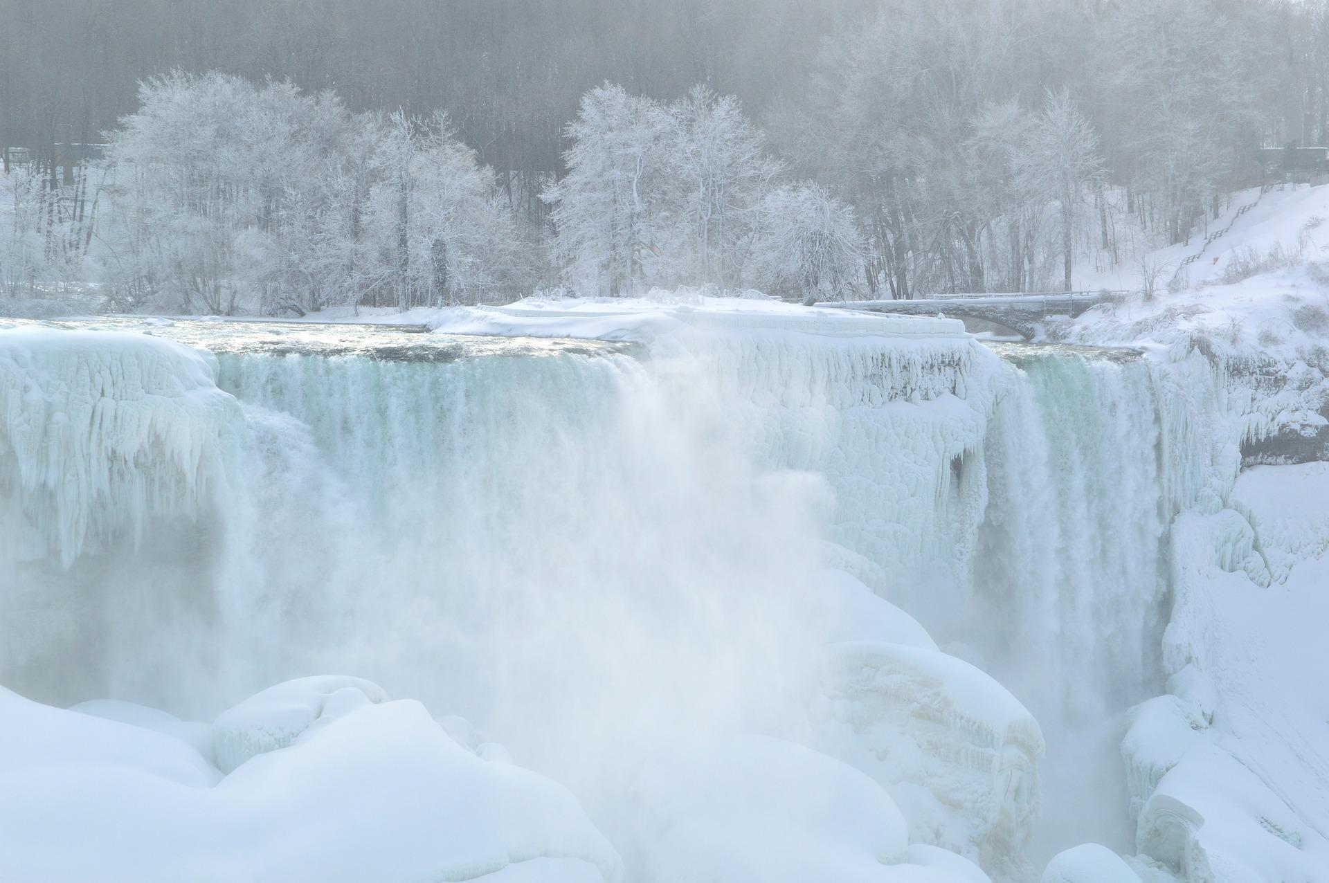Wauw, hoe mooi zijn de bevroren Niagara Falls?