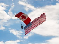 grens oversteken canada amerika