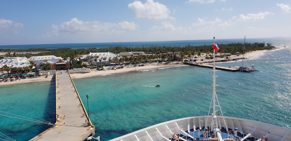 Cruise vanuit Amerika: hoe werkt het aanmeren?