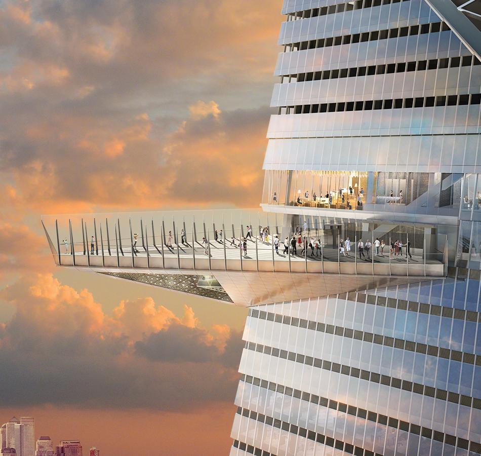 Edge Observation Deck New York: het hoogste observatiedeck ooit!