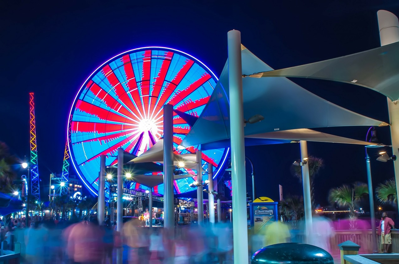 Myrtle Beach, South Carolina: strand en Amerikaans vertier
