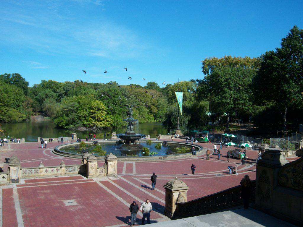 Bethesda Fountain en Terrace in Central Park