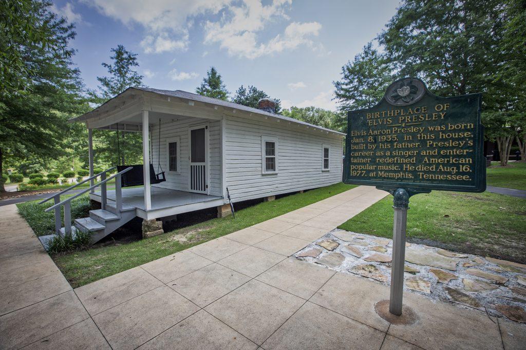Tupelo geboortehuis van Elvis