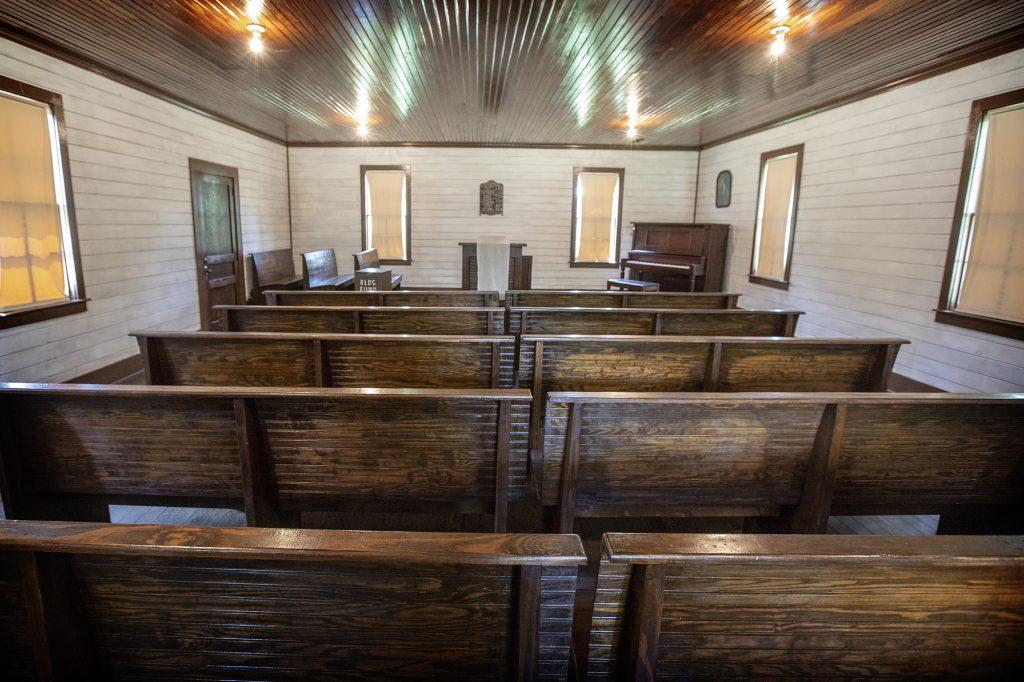 kerk in Tupelo waar Elvis zong als kind