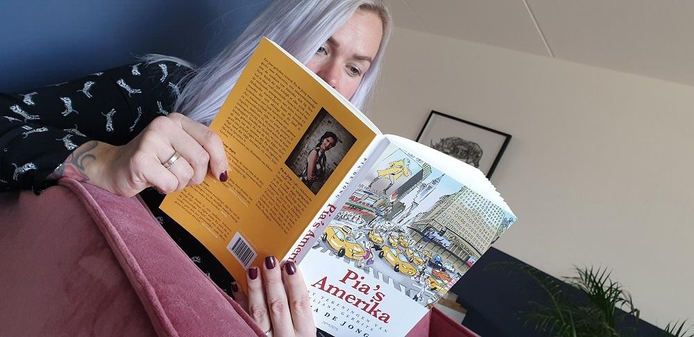 Pia's Amerika van Pia de Jong; een boekreview