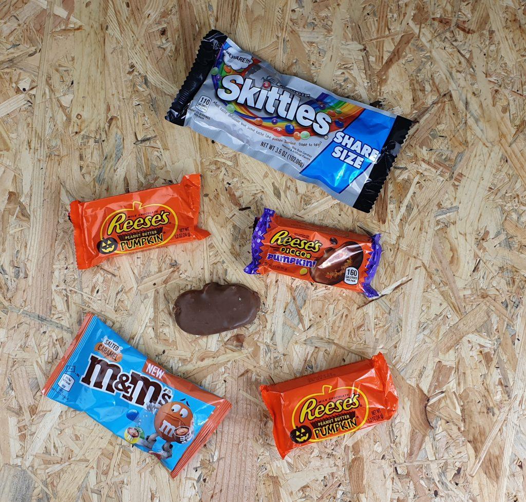 halloween chocolade