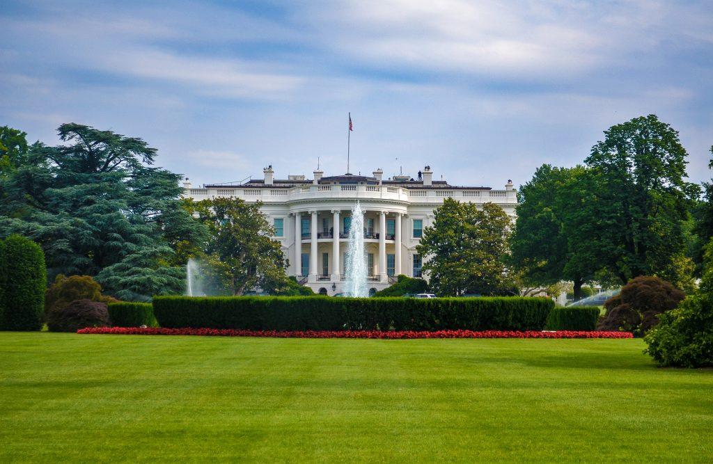 washington bezienswaardigheden witte huis